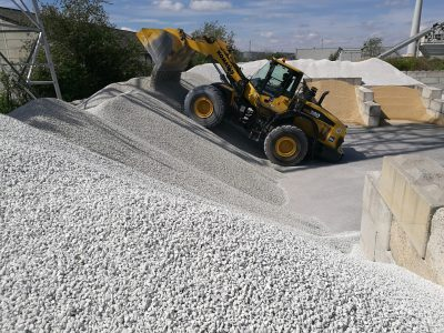 Ghent Aggregates depot lysit